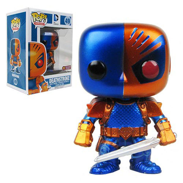 Deathstroke Metallic Previews Exclusive Pop! Vinyl Figure