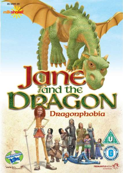 Jane And The Dragon Dragonphobia Dvd Zavvi