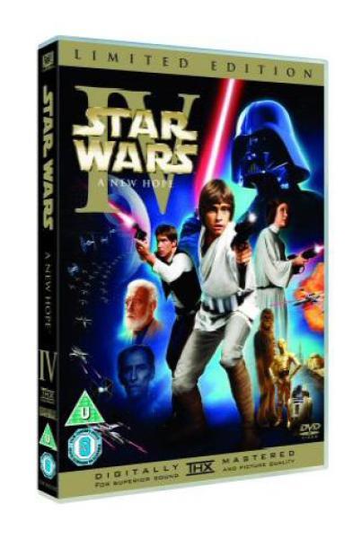 Star Wars Episode Iv A New Hope Dvd Zavvi