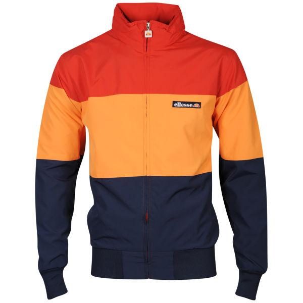 Ellesse Mens Le Querce Jacket Scarlet Orange Clothing