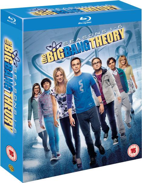 The Big Bang Theory Seasons 1 6 Blu Ray Zavvi