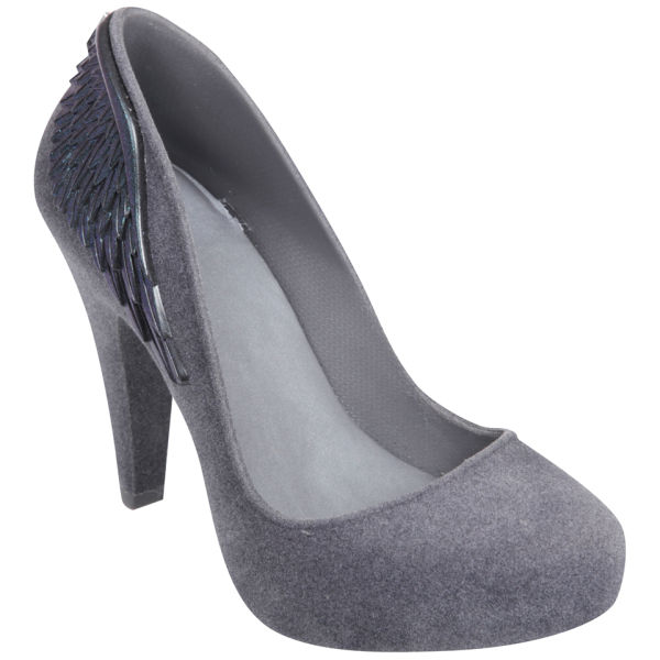 Melissa Women's Incense Wing Heels - Grey