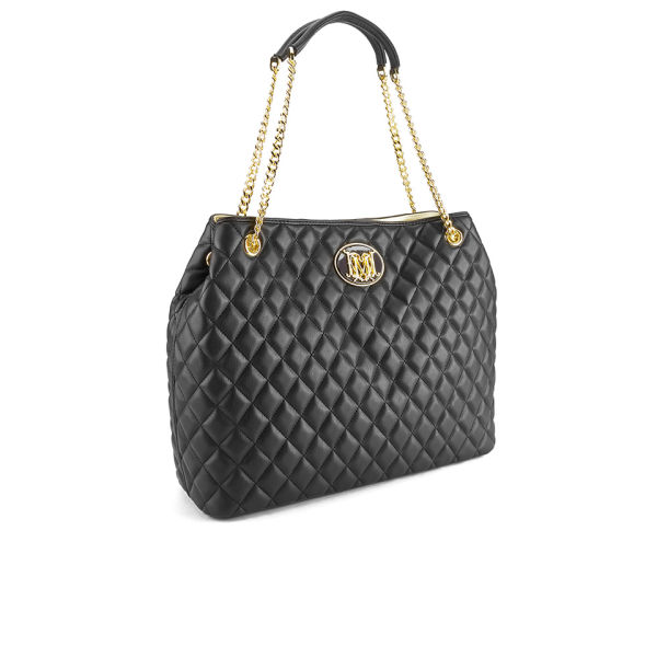 Love Moschino Women S Quilted Tote Bag Black Free Uk