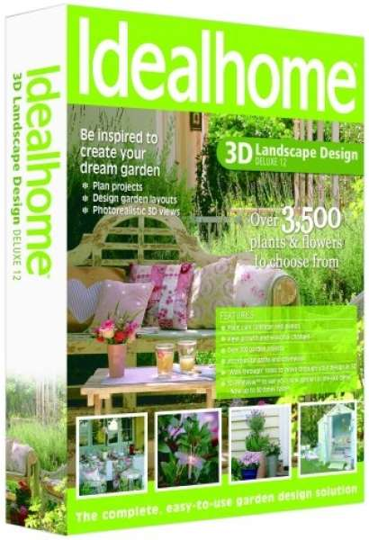 Ideal home 3d landscape design deluxe 12 computing zavvi for 3d home architect landscape design deluxe v6 0