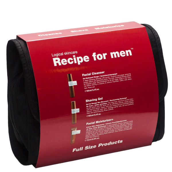 Recipe for Men - Three Way Gift Bag Red ( FC+SHG+FM+)
