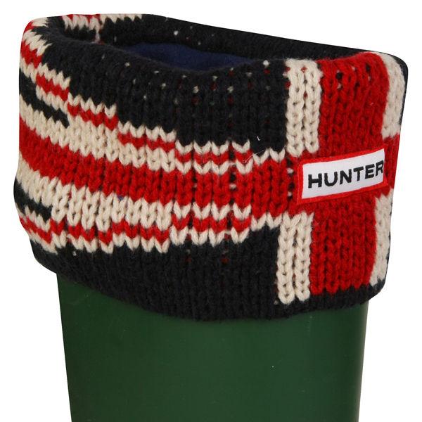 Hunter Unisex Original Brit Cuff Welly Socks - Navy
