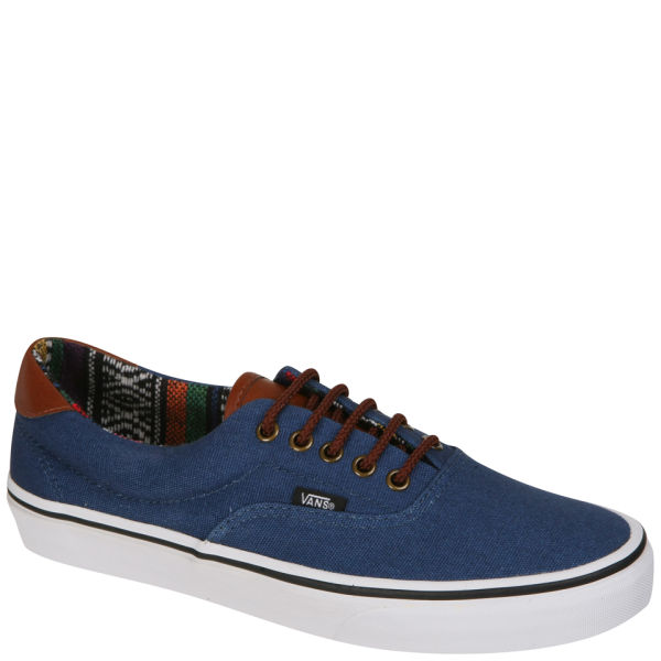 Vans Era 59 Canvas And Leather Trainers Navy Gaute