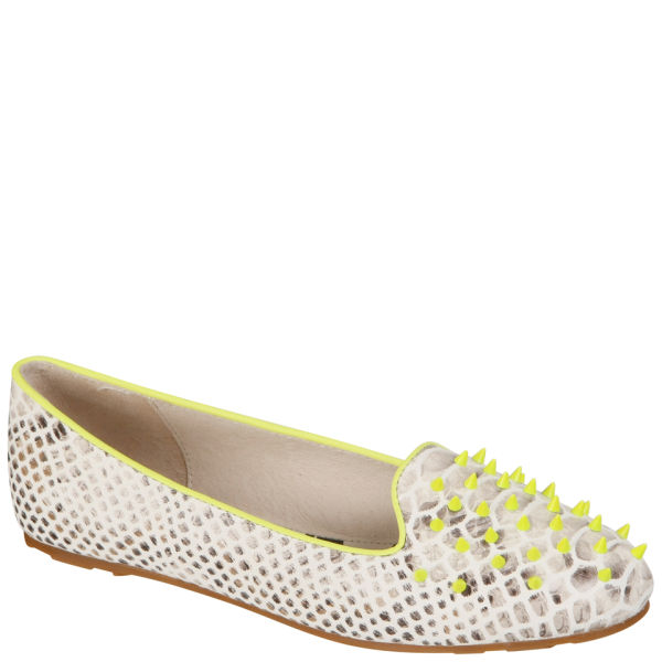 Senso Women's Elly Studded Pumps - Fluro Yellow