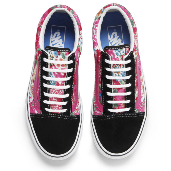 Old 05326 Trainers Offer White Discounts Skool D236e Uk Vans Floral 01wZTxE