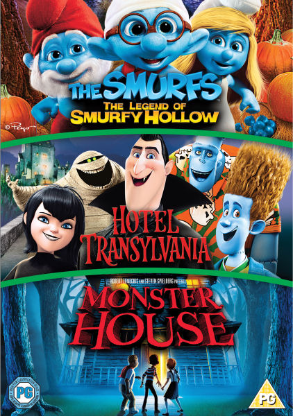 Hotel Transylvania Monster House Smurfy Hollow Dvd Zavvi