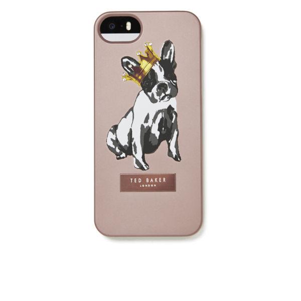 1bc561bad0bb6 Ted Baker Women s Gulia Dog iPhone 5 Case - Rose Gold  Image 1
