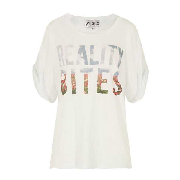 Wildfox Women's Reality Bites Chill Pill T-Shirt - White