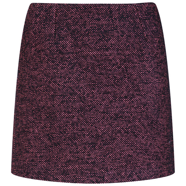 YMC Women's Tweed Mini Skirt - Pink