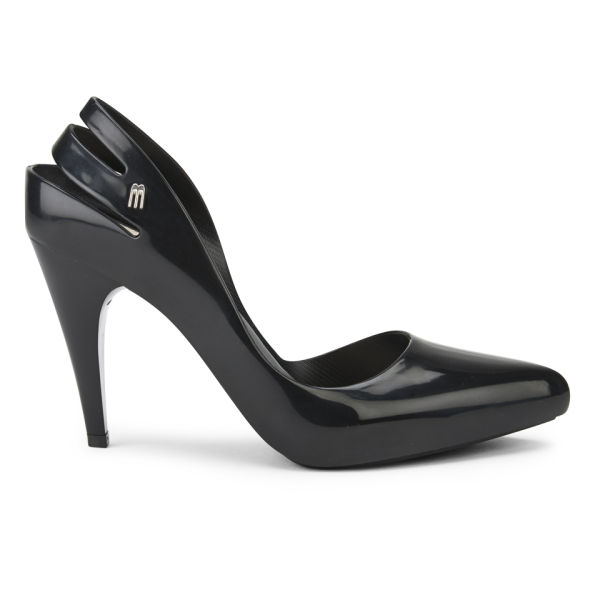Melissa Women's Gloss Classic Court Shoes - Black