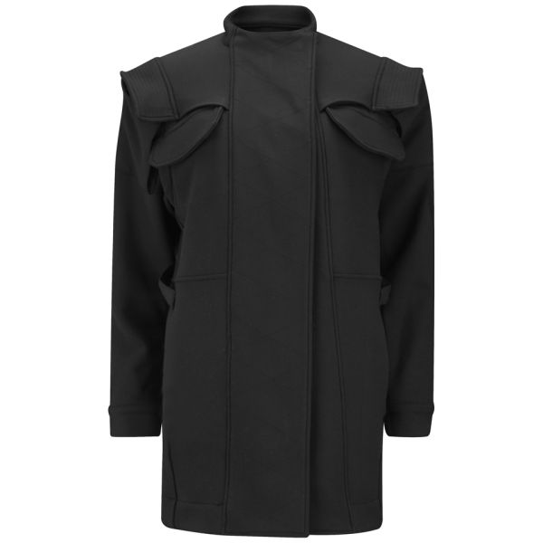 Opening Ceremony Women's Keaton Twill Cargo Coat - Black
