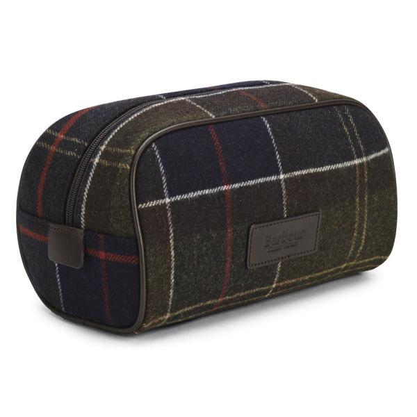 aa94371640 Barbour Men s Tartan Wash Bag - Classic Tartan  Image 2