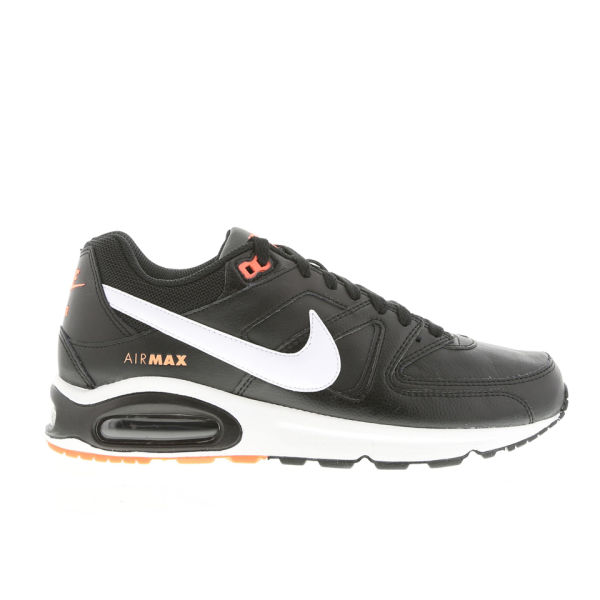 772609c763 Nike Men s Air Max Command Leather Trainers - Black White Mango  Image 1