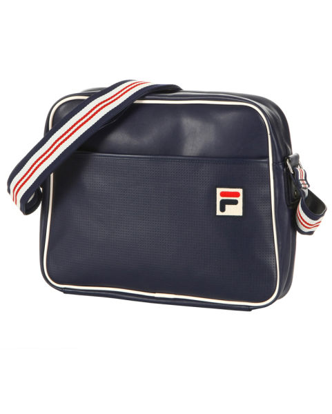 Fila Vintage Flight Bag Peacoat Mens Accessories Zavvi