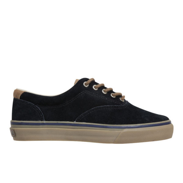 3c73e435323095 Sperry Men s Striper CVO Suede Shoes - Black  Image 1