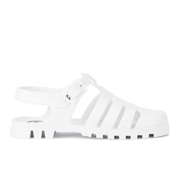 JuJu Women's Maxi Jelly Sandals - White