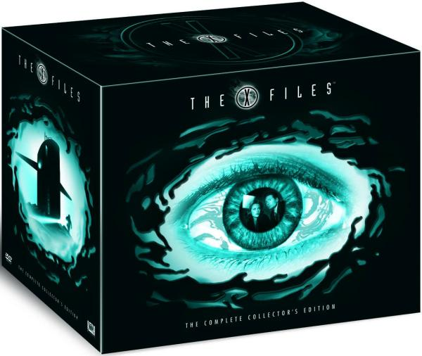 the x files complete dvd collection 60dvd iwoot. Black Bedroom Furniture Sets. Home Design Ideas
