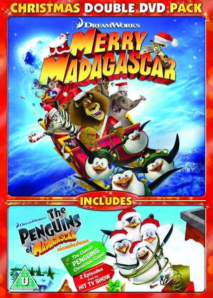 Merry Madagascar and Penguins of Madagascar Christmas