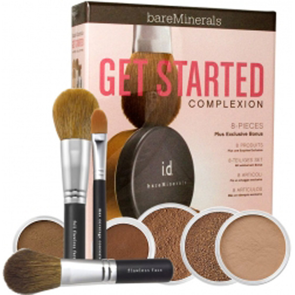 Bare Escentuals Get Started Kit - Dark (9 Products)