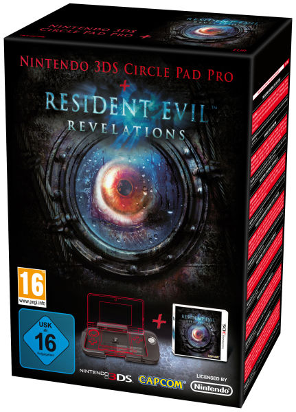 Resident Evil: Revelations with Circle Pad Bundle (Exclusive)