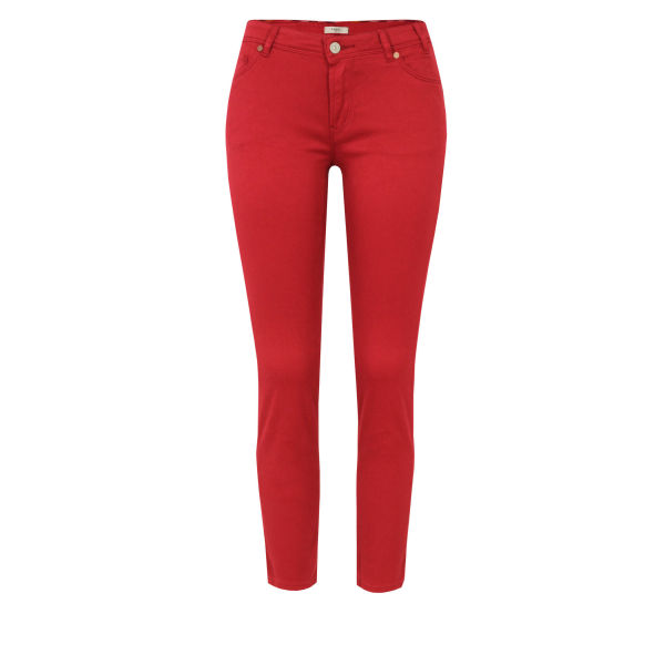 Paul by Paul Smith Women's F222 Stretch Skinny Jeans - Red