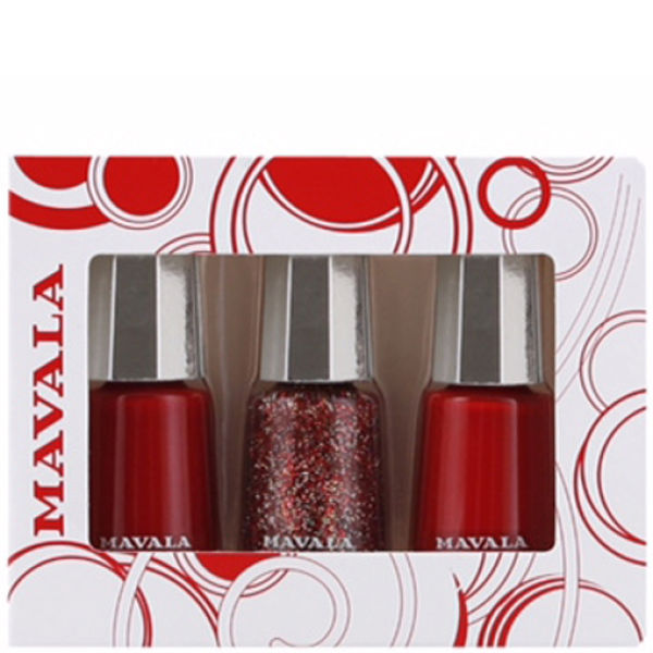 Mavala Reds Exclusive 3 Polish Set