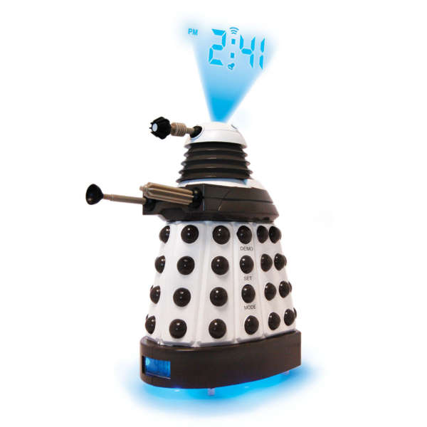 Dr who dalek projection alarm clock iwoot - Tardis alarm clock ...