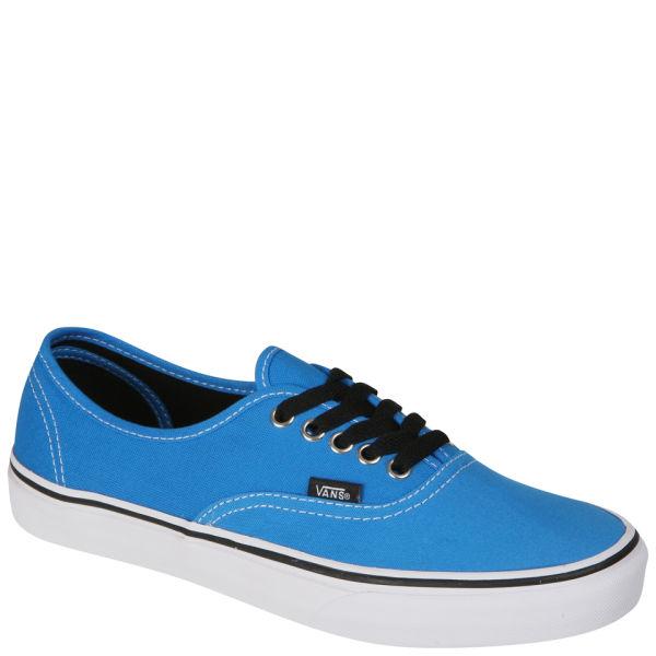 Vans Authentic Canvas Trainers - Brilliant Blue/True White