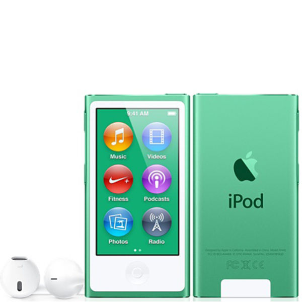 Ipod Nano 7th Gen 16gb Green Electronics Zavvi