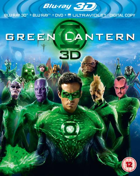 Green Lantern 3d Includes Ultraviolet Copy Blu Ray Zavvi