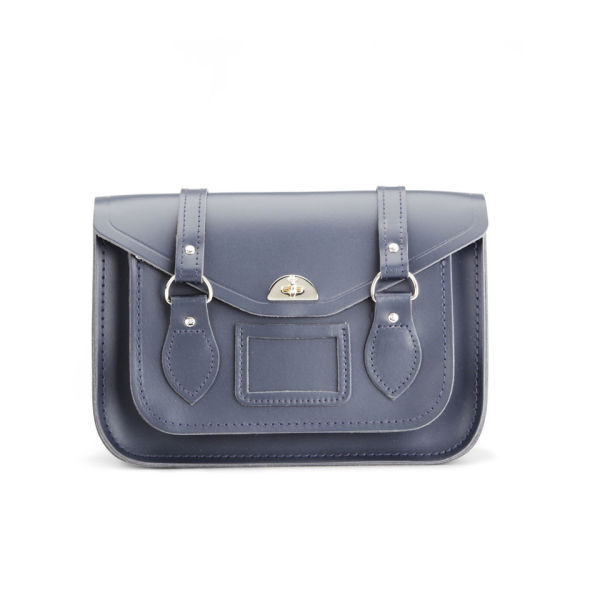 The Cambridge Satchel Company Leather Shoulder Bag - Navy
