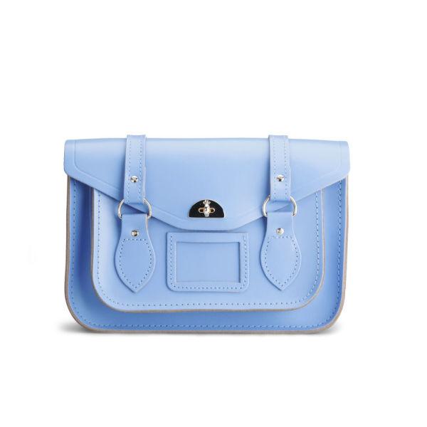 The Cambridge Satchel Company Leather Shoulder Bag - Bellflower Blue