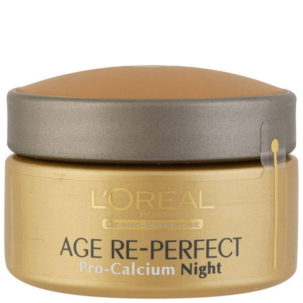 Crema de noche fortificada con calcio Dermo Expertise Age Perfect Pro Calcium Fortifying Night Cream de L'Oreal Paris (50 ml)