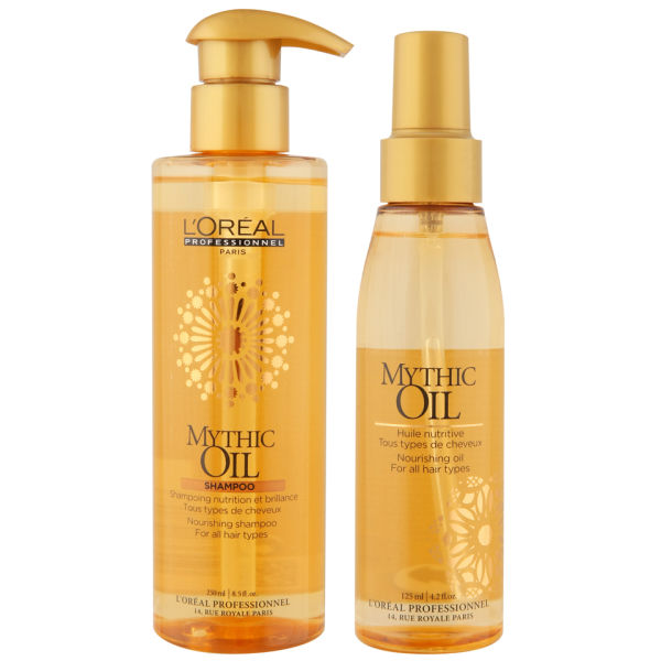 L Oreal Professionnel Mythic Oil Shampoo And Oil Duo