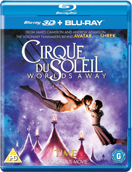 Cirque Du Soleil: Worlds Away 3D (Includes 2D Version)