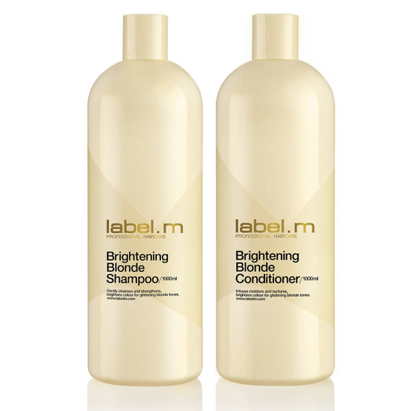 label.m Brightening Blonde Shampoo and Conditioner (1000 ml) Duo