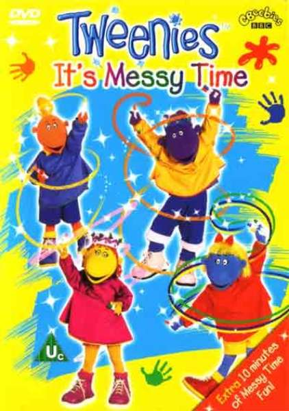 Tweenies It S Messy Time Dvd Zavvi