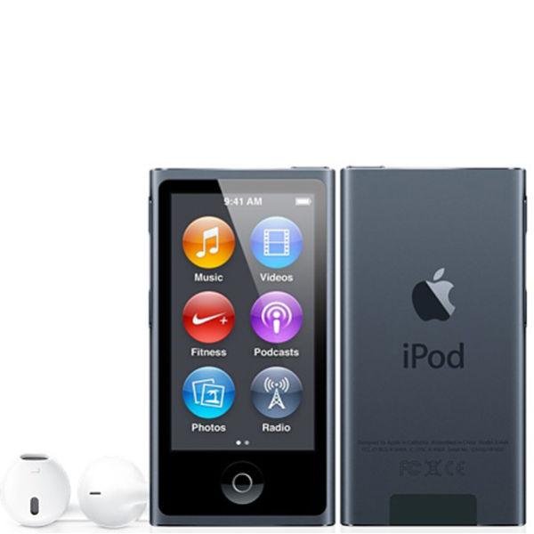ipod nano 7th gen 16gb slate electronics. Black Bedroom Furniture Sets. Home Design Ideas
