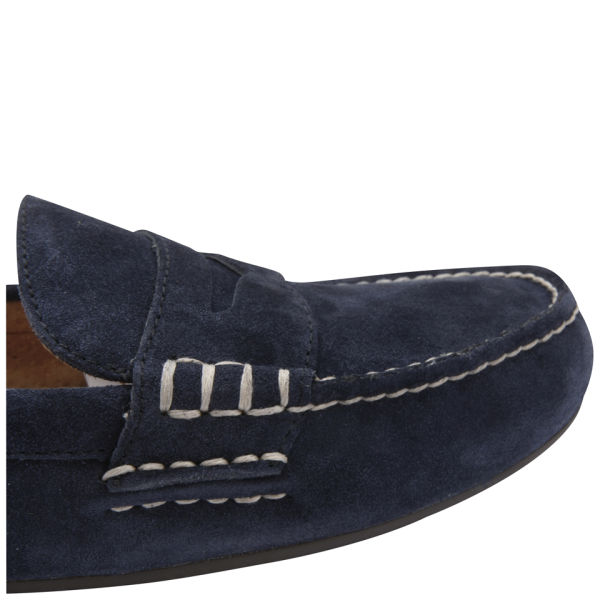 dea631bd1ec Polo Ralph Lauren Men s Wes Suede Slip-on Shoes - Newport Navy  Image 6