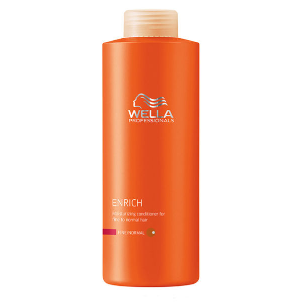Wella Professionals Enrich Fine Conditioner (1000 ml) (Wert £ 58,50)
