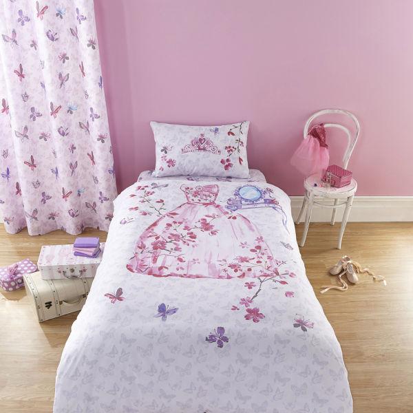 Catherine Lansfield Glamour Princess Bedding Set - Multi