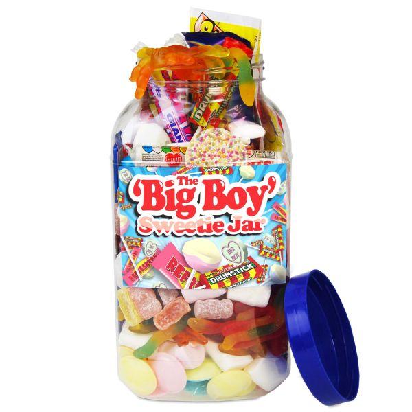 The Big Boy Retro Sweet Jar 1 7kg Iwoot