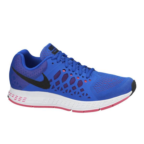 nike s zoom pegasus 31 running shoes blue pink