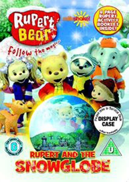 Rupert The Bear And The Snow Globe