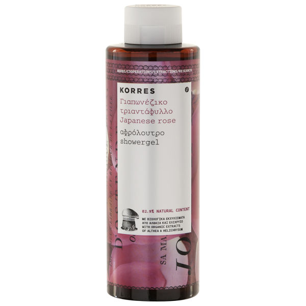 Korres Japanese Rose Showergel (250ml)