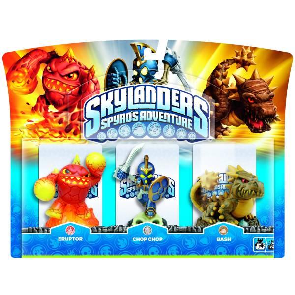 Skylanders Eruptor Chop Chop And Bash Triple Character